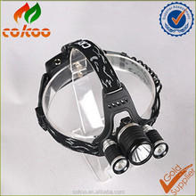 Wholesales led 3t6 rechargeable headlight 10W led headlamp for hunting