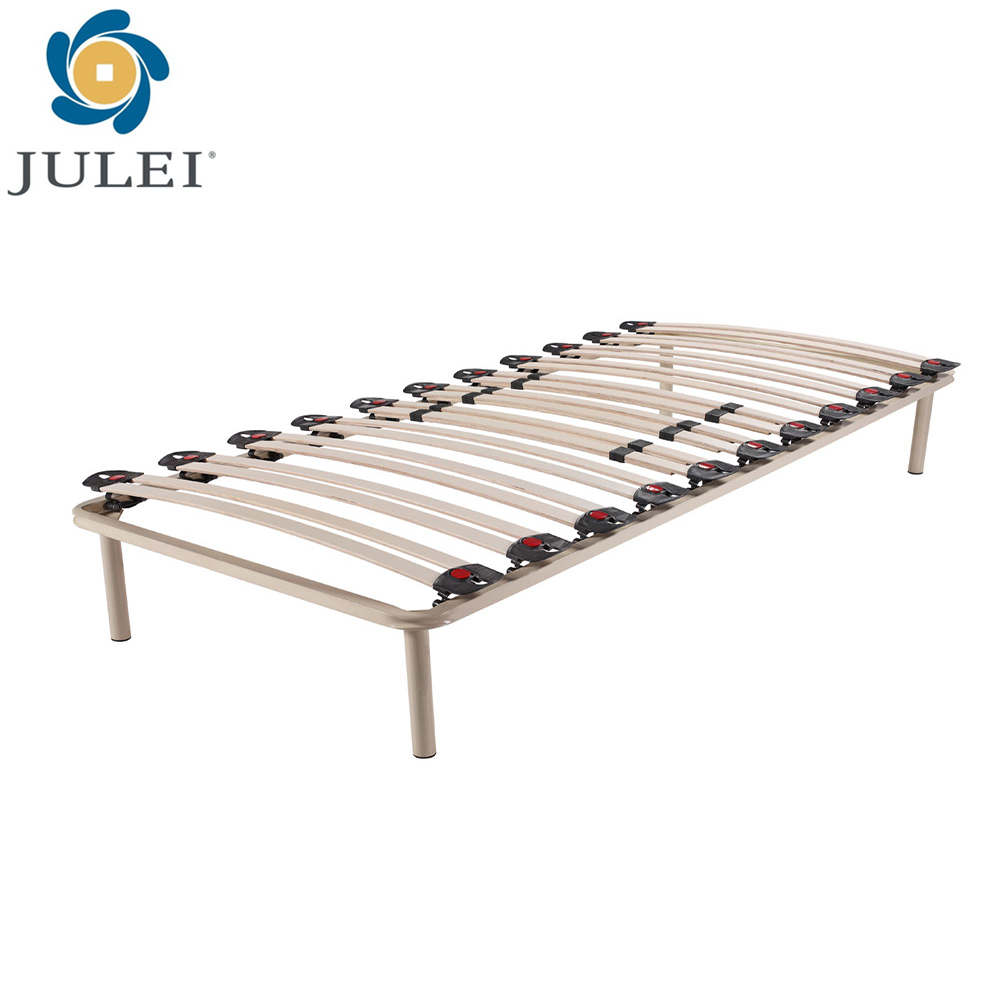 strong single size slat bed DJ-PW04a for bedroom bed