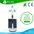 Hot sale solar power fan DC ceiling exhaust stand for car home camping mountain 12v rechargeable inside lead-acid battery