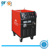 Integrated design arc welder 350 amp mig welding NBC-350 with mig welding wire feeder motor