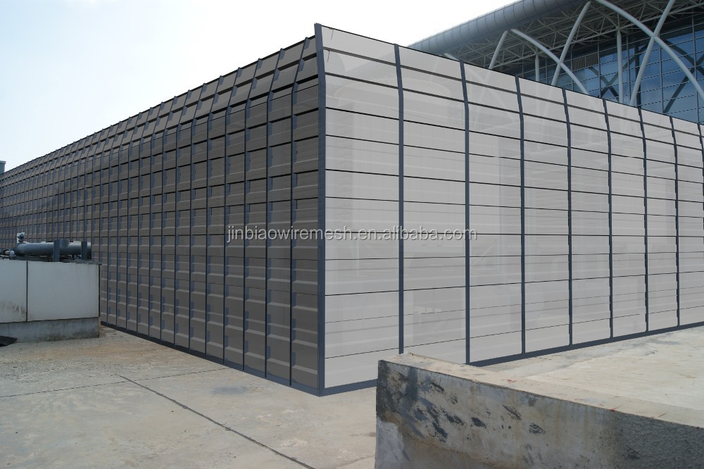 Microporous absorption panel sound barrier system for sale