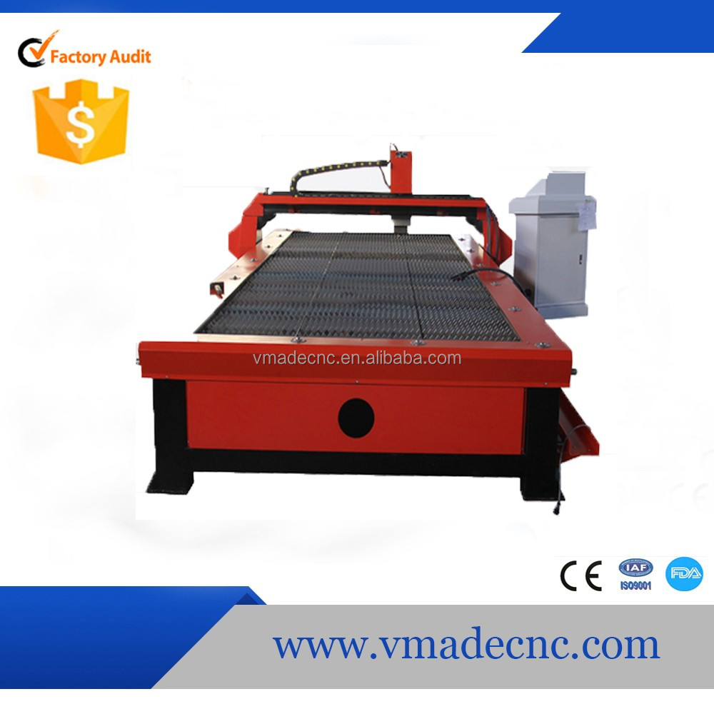 lower cost CNC plasma cutter/CNC sheet metal cutting machine /table CNC plsama cutter 1325
