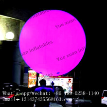 Luminous floating waterproof LED lighting ball hot sale