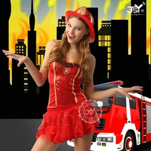 High quality sexy Women firefighter costume for carnival