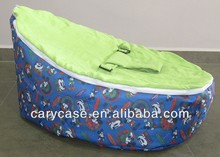HOTSELL MOUSE base with Green top baby beanbags chair, child Todler Bean Bag Kid Pod Seat Bean Bag, Nursery Snuggle Bed