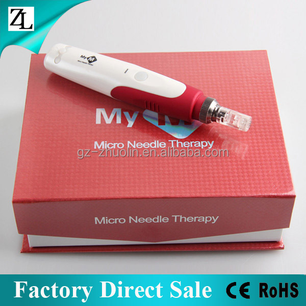 ZL Factory Direct Sale Best Stretch Marks Removal Microneedle Pen