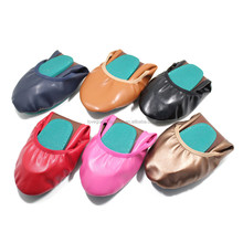 Women's Rubber Blue Split-sole Folding Shoes