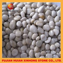 garden blue river pebble gravel stone for decoration