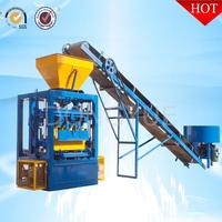 Concrete Brick Raw Material qt4-24 concrete block making machine