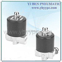 "2W series DC 12v 1"" normally open water solenoid valve"