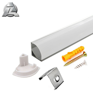 full accessories aluminum profile led channel mount