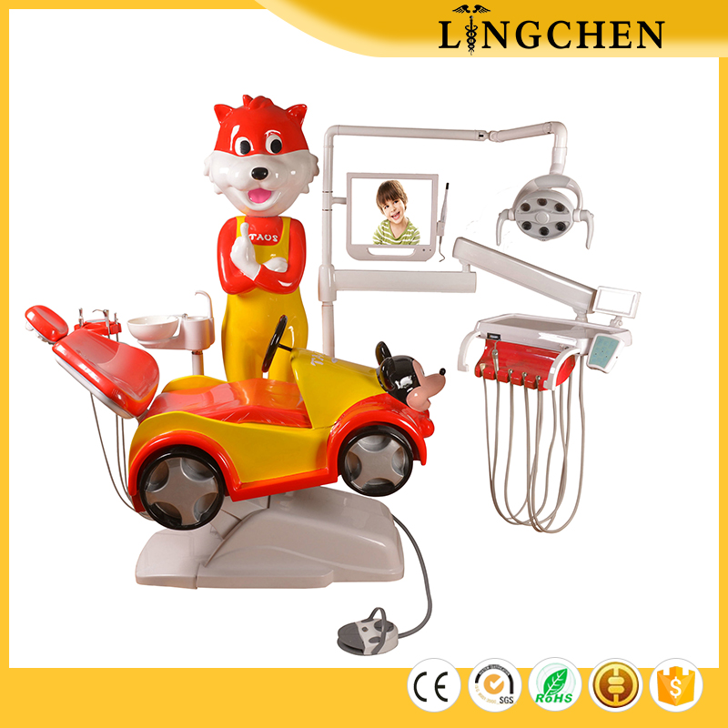 Competetive price Intelligent children dental chairs unit price, poltrone odontoiatriche cinesi