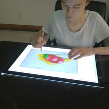 Express ali A3 led light pad tracing light box digital drawing tablet for kids