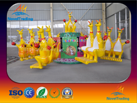 Attractive kids amusement kangaroo jumping rides/kangaroo shape jumping electric machine