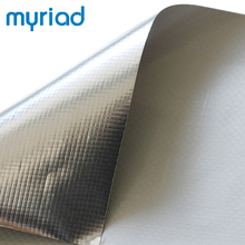 Alu coated heat reflective insulating thermal barrier fabric