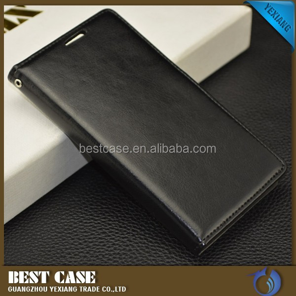 Mobile phone accessories for lenovo p70, leather cover flip case for hauwei p70