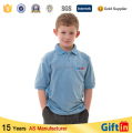 High Quality Childrens Clothes Customized Logo Printed Blank 200 grams Casual Polo Shirt
