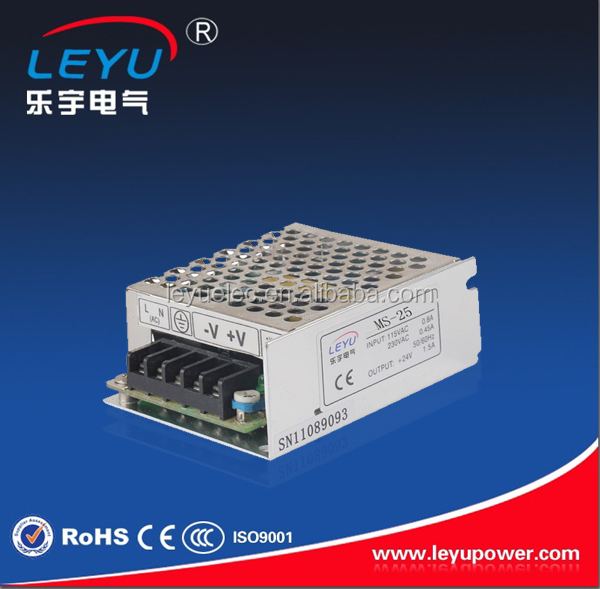 Two year warranty mini size model MS-25-12 25W 12v Single output switching power supply