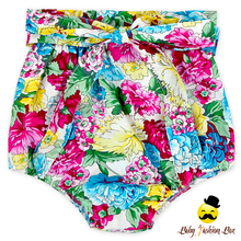 Soft Cotton Flower Baby Girl Floral Frenulum Free Panties Infant Diaper Type Bloomer