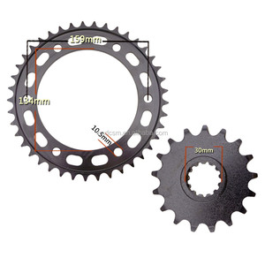 CBR600 F5 transmission kits motorcycle rear sprocket and front sprocket