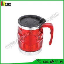 2015 professional high quality double wall mug drinking gadgets
