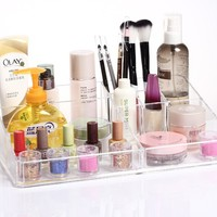 Clear Plastic Cosmetic Holder