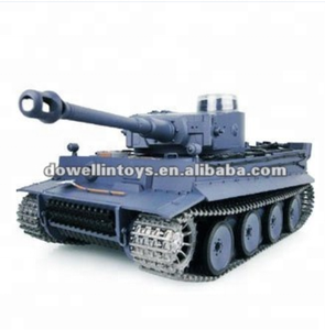 HL RC Metal Tank/1:16 German Tiger I RC Tank With Smoking and Sound