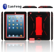 Factory custom for iphone case,for ipad 2 3 4 kickstand combo case