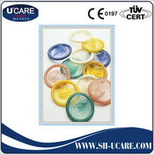 Competitive price best sell multi color condoms supplier