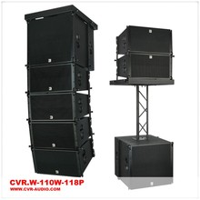 pro dj line array powered 10 inch active speaker