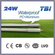 1500mm 24w LED Waterproof Tube 8 China with the Aiuminum Material