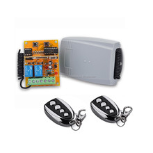 Rolling tubular motor electric garage door wireless remote control switch rf receiver