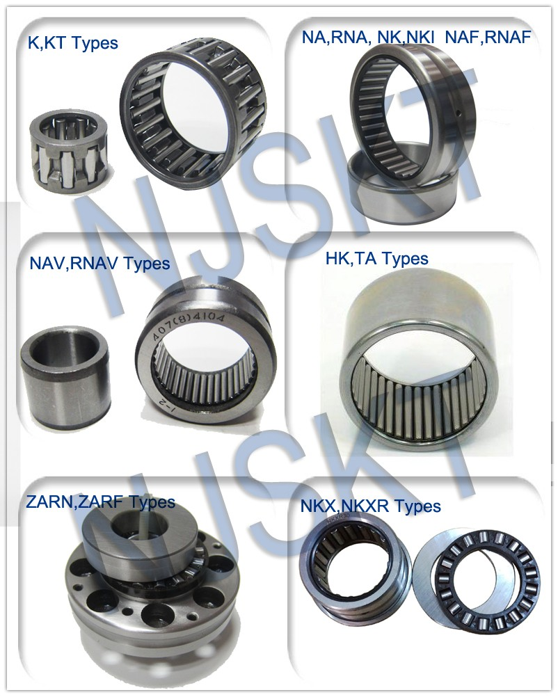 all type of needle roller bearing