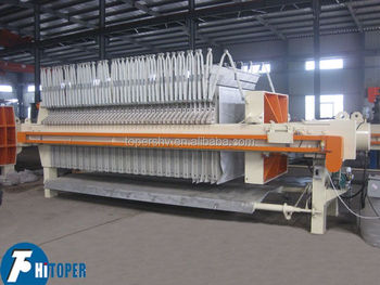 Filter cloth automatically varicose hydraulic compress filter press price