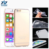 for iPhone 6 TPU Material Clear Soft Shockproof Protective Mobile Phone Case