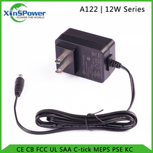 12W AC-DC desktop power adapter/adaptor for LED lighting, moving sign ...