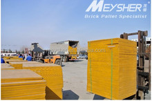 used as bamboo pallet plastic pallet brown paper pallet for goods
