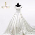 Gorgeous A-line Suzhou China Custom Made Plus Size Wedding Dress 2016