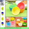 Premium food grade Colorful easy cleaned Muffin Silicone baking cupcake mould