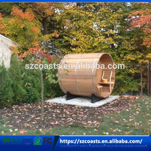 Outdoor Wood Mini Portable Barrel Steam Sauna Room