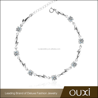 OUXI 2016 New Design 925 Silver Imitation Fashion Jewelry