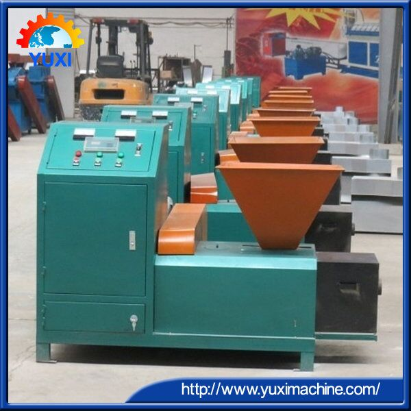 High Quality Leaves Charcoal Briquette Machine/Charcoal Rod Machine 0086 15238378335