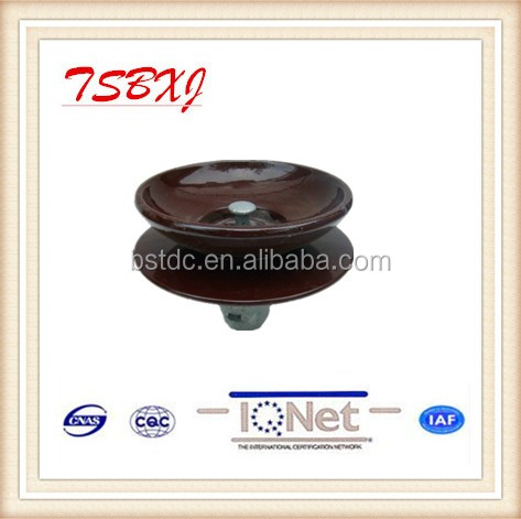 160KN Anti fog type insulator For High Voltage