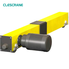 Perfect cooperation overhead bridge crane single girder with end carriage