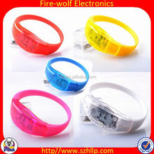 Best Selling Item China Wholesale Novelty Christmas Occasion light up wristbands manufacturer/supplier/factory/exporter