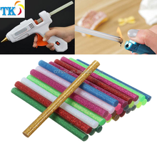 EVA hot melt glue stick / glitter glue sticks / colorful glue stick for glue gun