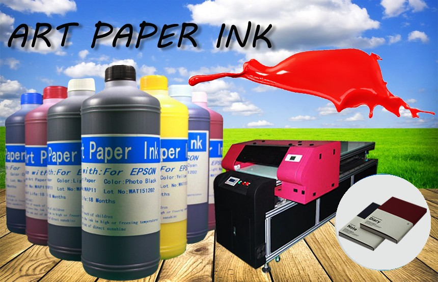 Ocbestjet Compatible No Coating Art Paper Ink For Epson l1300