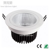 China dimmable CREE2520 25W COB Ceiling Downlight white EMC&LVD&ROHS
