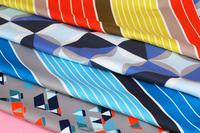 100% Polyester Microfiber Peach Skin Digital Print Milky Coated Fabric