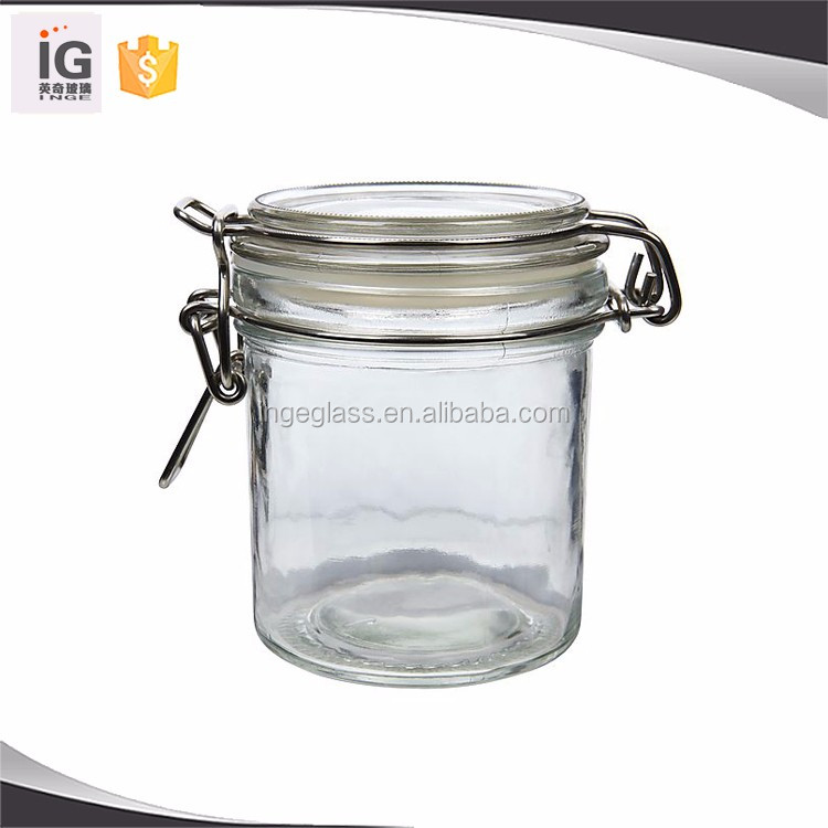 Glass Jars with Snap Lid Favors